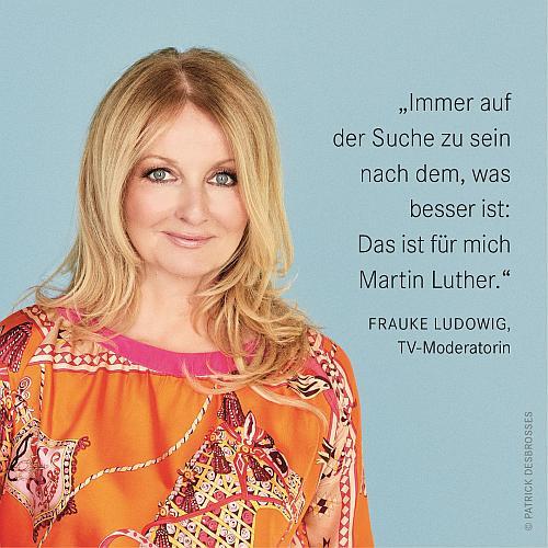 Frauke Ludowig - Reformationsbotschafterin und TV-Moderatorin