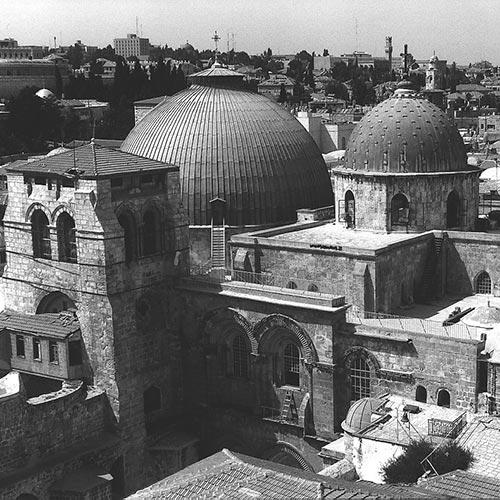 Blick auf Jerusalem Foto: GEP
