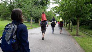 Kamelreiten im Grugapark
