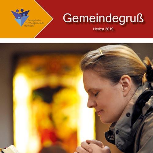 Gemeindegruß - Herbst 2019 - Titelbild