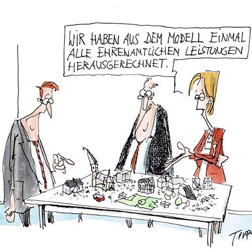 Ehrenamt - Grafik: Plaßmann