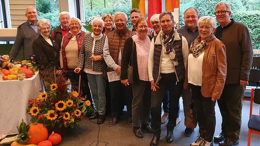 Gruppenfoto mit der Partnergemeinde