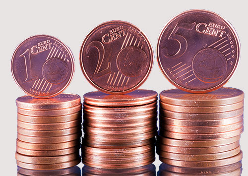 Geld, Cent