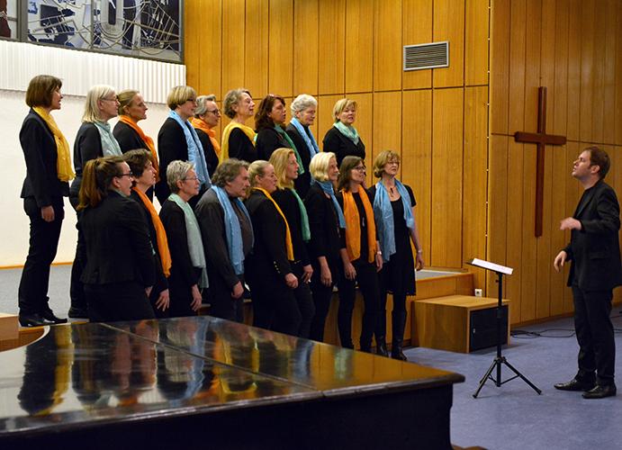 Foto ©️Gospelchor der Evangelischen Kirchengemeinde Hochdahl Chorshooting am 27.1.2020