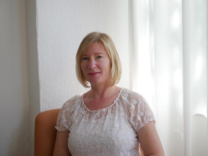 Bettina Grünewald, Leiterin der evangelischen Ehe-, Familien-, Lebensberatungsstelle