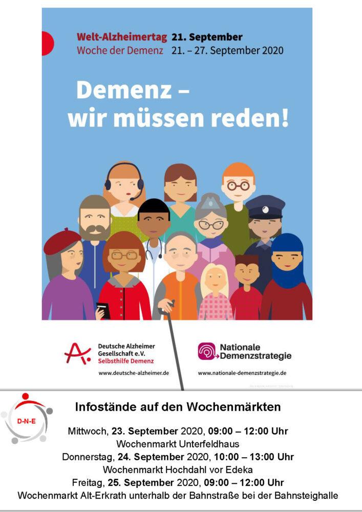 Welt-Alzheimertag 21. September