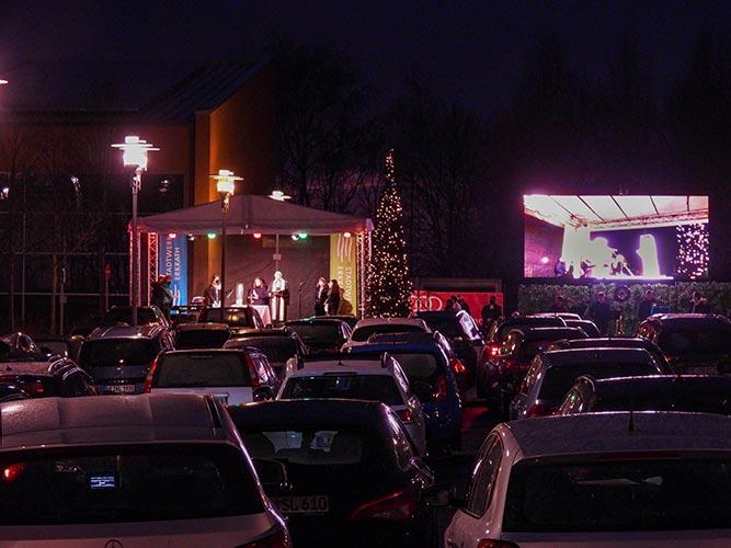 Heiligabend Autokino